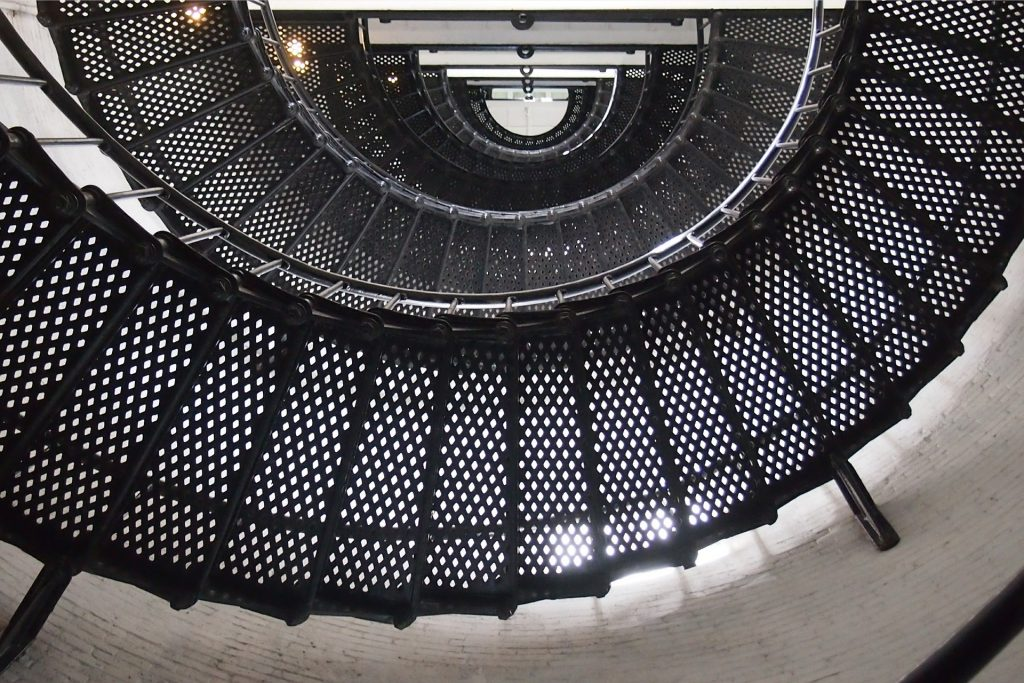escalier en metal