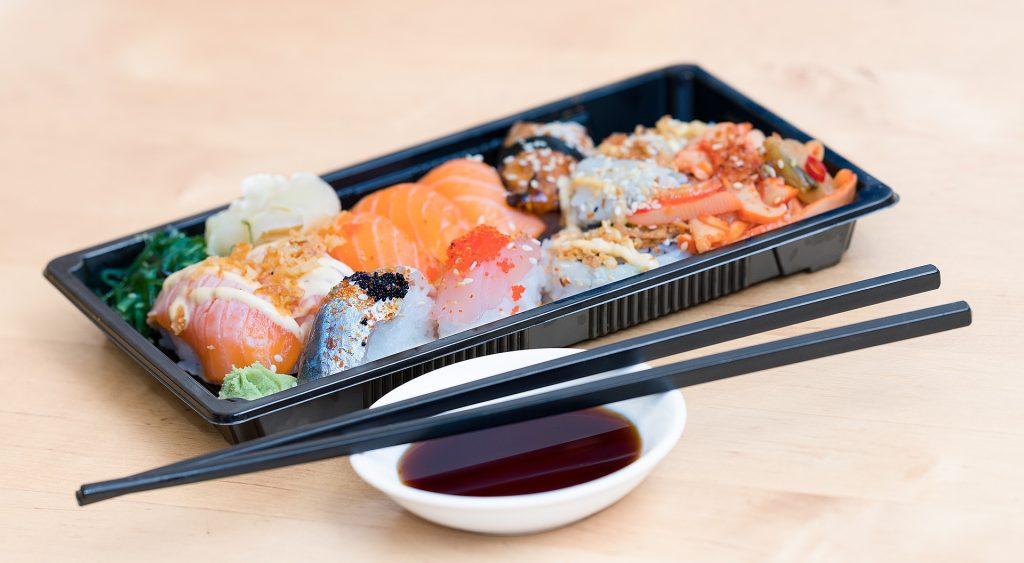 livraison de sushis